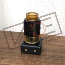 画像1: PYRO RDTA 24mm 【 VANDY VAPE 】 ポストレスデッキタイプ シングル/デュアル 3Dエアフロー アトマイザー ブラック (1)