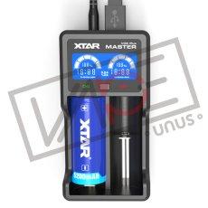 画像1: VC2 PLUS MASTER チャージャー【 XTAR 】 電子タバコ用 充電器 バッテリーチャージャー 2A 持ち運び (1)
