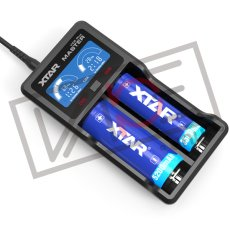 画像2: VC2 PLUS MASTER チャージャー【 XTAR 】 電子タバコ用 充電器 バッテリーチャージャー 2A 持ち運び (2)
