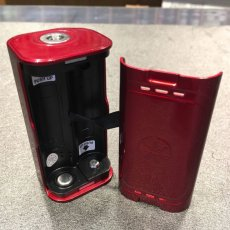 画像2: <テクニカルデュアルMOD> LUSTRO 200W Box Mod 《AsModUs》 MOD デュアルバッテリー 電子たばこ vape (2)
