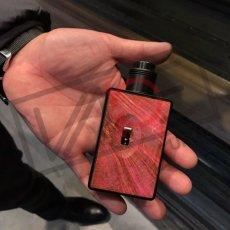 画像7: <BFテクニカルMOD>Spruzza 80W Squonk  / ASMODUS ウッド タッチパネル搭載  ボトムフィーダー BOXMOD スコンカー BF タッチパネル 電子タバコ vape (7)