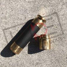 画像1: 《メカニカルMOD》030【AVIDLYFE 】【BLEM LYFE】 Able Brass キャップセット (1)