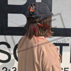 画像11: UNUS オリジナル ローキャップ newhattan CAP オリジナル グッズ 3色展開 デニム ブルー ブラック (11)