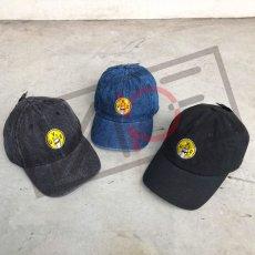 画像10: UNUS オリジナル ローキャップ newhattan CAP オリジナル グッズ 3色展開 デニム ブルー ブラック (10)