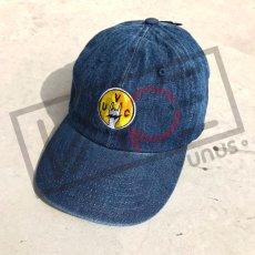 画像6: UNUS オリジナル ローキャップ newhattan CAP オリジナル グッズ 3色展開 デニム ブルー ブラック (6)