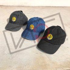 画像1: UNUS オリジナル ローキャップ newhattan CAP オリジナル グッズ 3色展開 デニム ブルー ブラック (1)