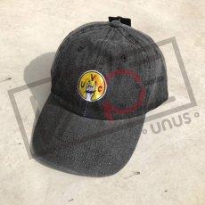 画像2: UNUS オリジナル ローキャップ newhattan CAP オリジナル グッズ 3色展開 デニム ブルー ブラック (2)