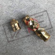 画像1: 《メカニカルMOD》【AVIDLYFE 】Gyre Quick Twist Brass CapSet キャップ セット MOD  (1)