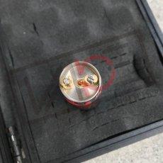 画像11: 《メカニカルMOD》新色【PURGE MODS】Slim Piece Black Red splatter RDA Set (11)