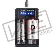 画像2: SV2 ROCKET チャージャー / XTAR 充電器 チャージャー 電子タバコ用 バッテリーチャージャー 2本同時2A充電可能 (2)