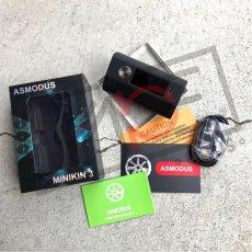 画像6: <テクニカルデュアルMOD> MINIKIN V3 200W Box Mod 《AsModUs》 MOD デュアルバッテリー 電子たばこ vape (6)