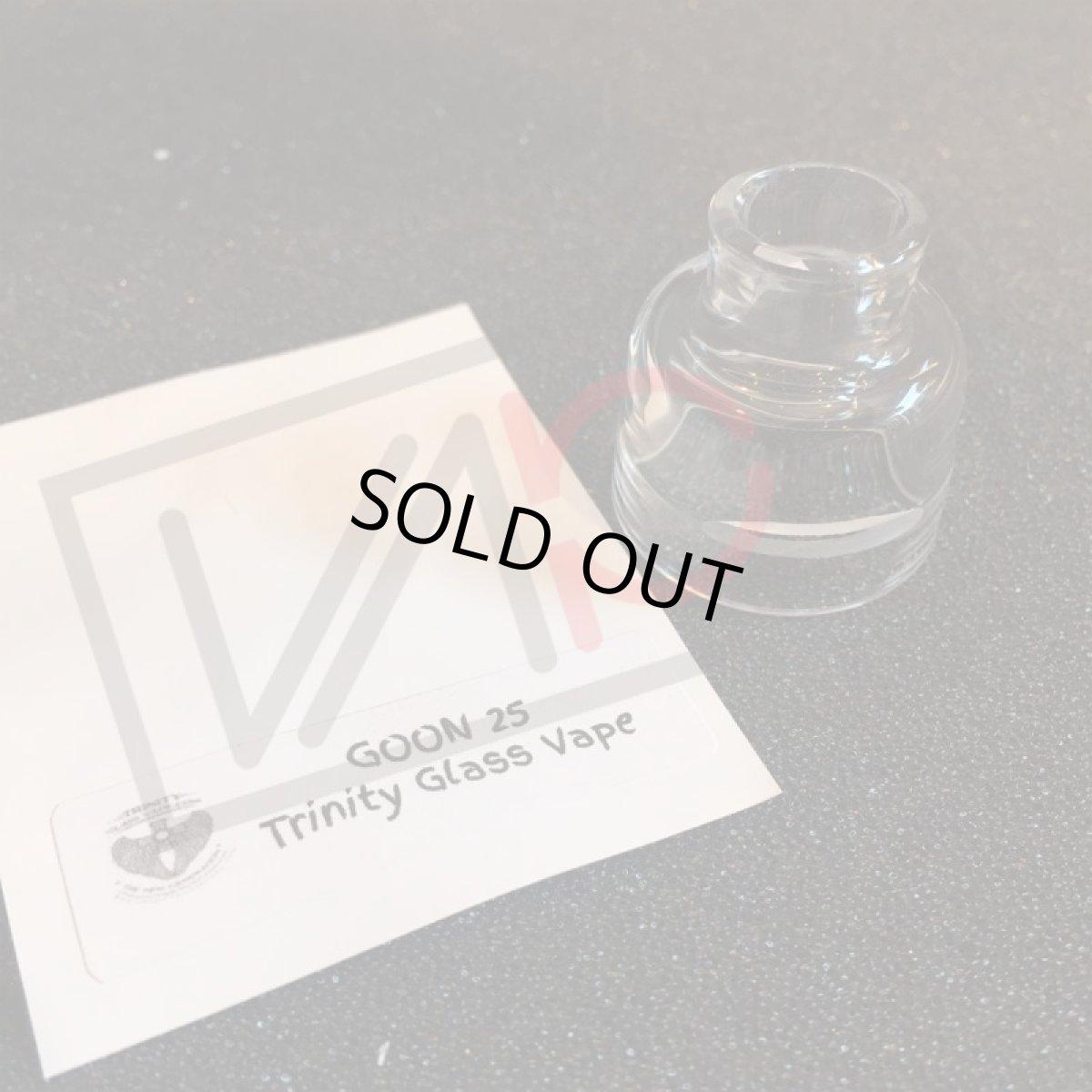 画像1: GOON RDA 25mm Trinity Glass Cap 《528 Custom Vapes》 ガラスキャップ クリア カスタム アクセサリー 電子タバコ vape (1)