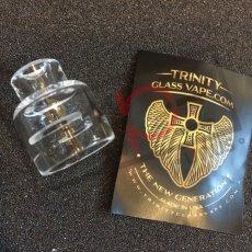 画像3: 《ガラスキャップ》2POST BATTLE DECK 20mm Trinity Glass Cap 《AVID LYFE》 クリア カスタム アクセサリー 電子タバコ vape (3)