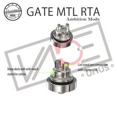 画像4: GATE MTL RTA - Ambition MODS アトマイザー MTL RTA 22mm 《 Ambition MODS 》シングル ビルド アトマイザー 電子タバコ vape (4)
