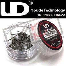 画像1: 【UD】 SS316L 26ga+30ga クラプトンコイル 0.5Ω(10個入り)  ビルド プリメイドコイル ワイヤー 電子タバコ vape (1)