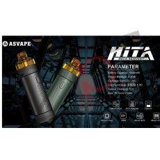 画像7: 《スターターキット》 HITA MECH REINVAET / ASVAPE 交換コイル リビルド可能 初心者 電子たばこ vape (7)