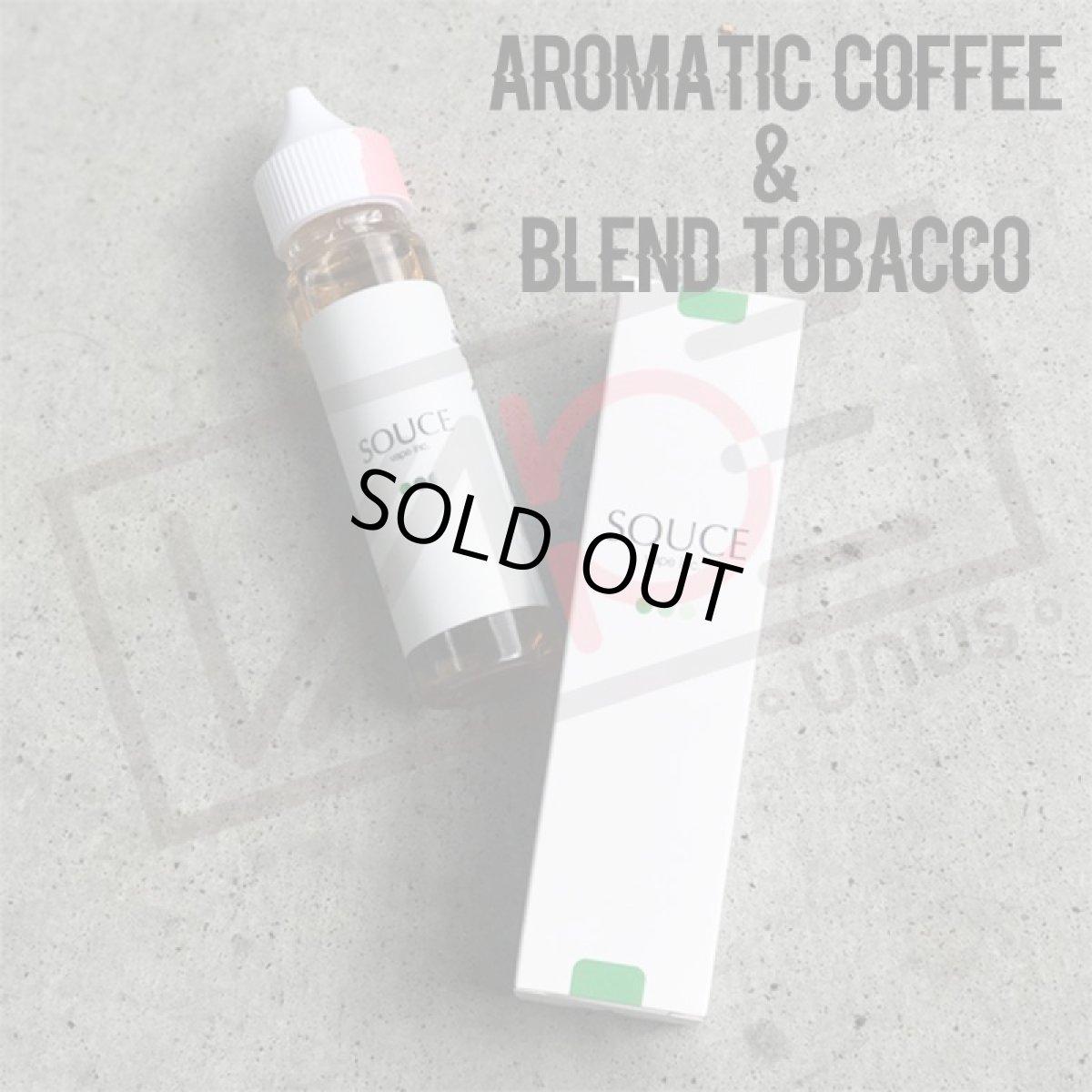 画像1: 《タバコ系》SOUCE【60ml】コーヒー タバコ リキッド (1)