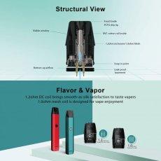 画像9: <スターターキット> XTAL Pod Kit / ZQ 小型スターターキット pod式 コンパクト 持ち歩き スターター 電子たばこ vape 初心者 サブ機 (9)