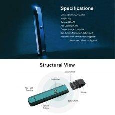 画像8: <スターターキット> XTAL Pod Kit / ZQ 小型スターターキット pod式 コンパクト 持ち歩き スターター 電子たばこ vape 初心者 サブ機 (8)