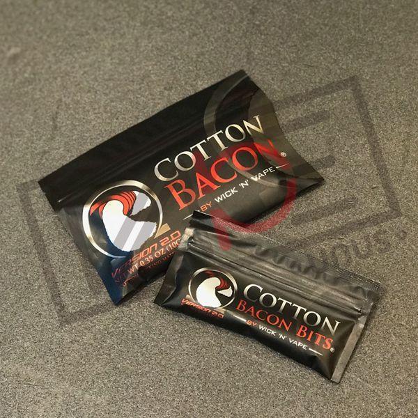 画像1: (小)Cotton Bacon V2.0 コットンベーコン 2g (Wick 'n' Vape) 電子タバコ専用コットン (1)