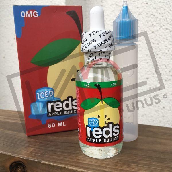 画像1: 《フルーツメンソール系》reds APPLE EJUICE【60ml】 アップル ジュース メンソール フルーツ スッキリ リキッド (1)