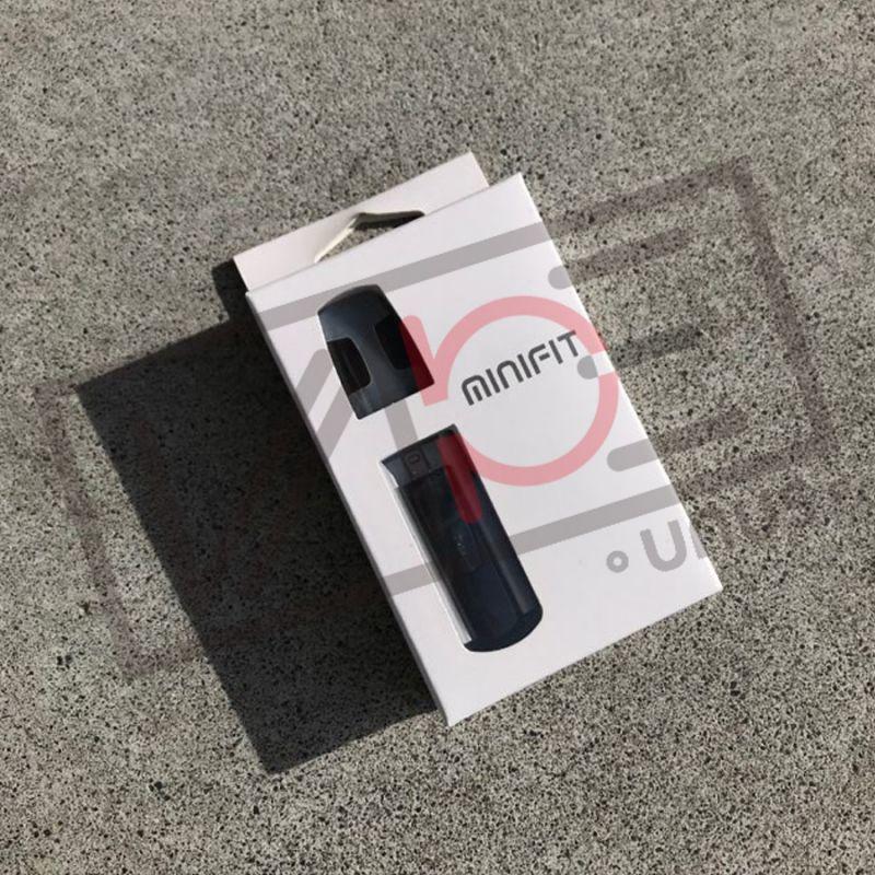 画像1: <スターターキット> minifit / JUSTFOG シルバー 小型スターターキット pod式 コンパクト スターターキット 電子たばこ vape (1)