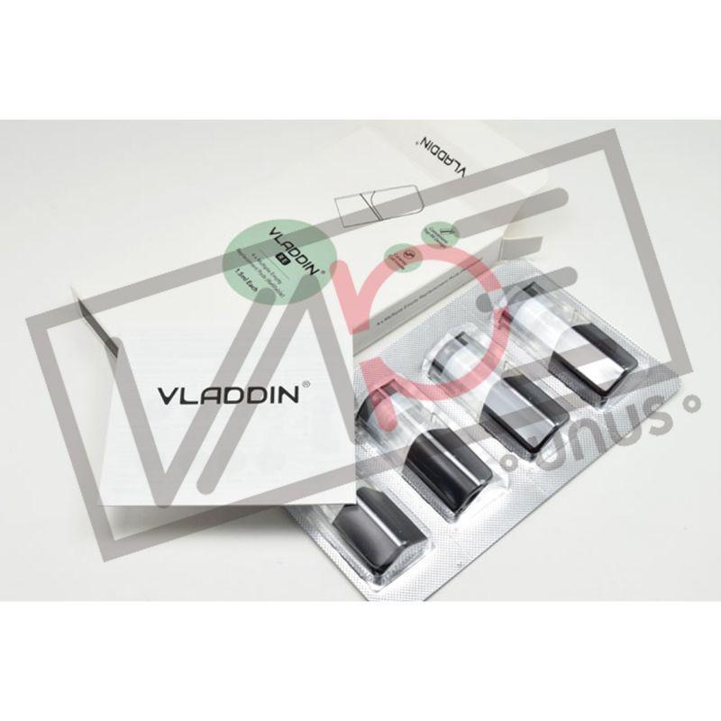 画像1: <交換POD> VLADDIN交換POD 4個入り / Vladdin Vapor 小型スターターキット pod式 コンパクト スターター 電子たばこ vape 初心者 (1)