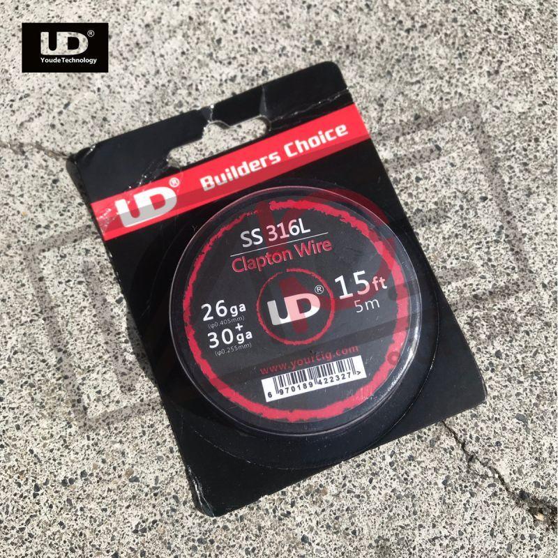 画像1: SS316 Clapton Wire / UD 15ft (5m) クラプトン ワイヤー ビルド 電子タバコ vape (1)