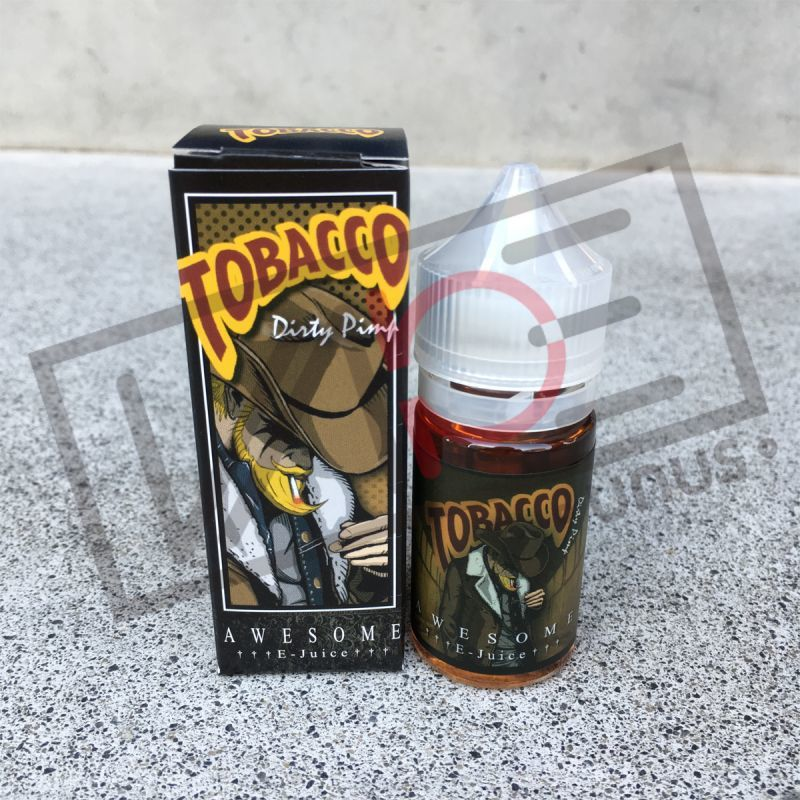 画像1: 《タバコ系》AWESOME【30ml】カスタード タバコ リキッド (1)