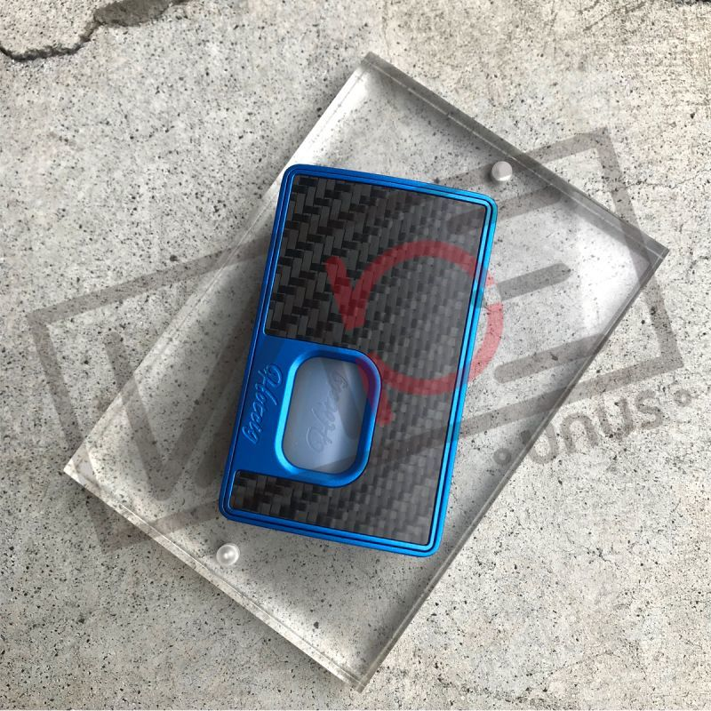 画像1: <BFテクニカルMOD> ブルー 9800RSQ 80W BF MOD / Hotcig × RigMod スコンカー BF (1)