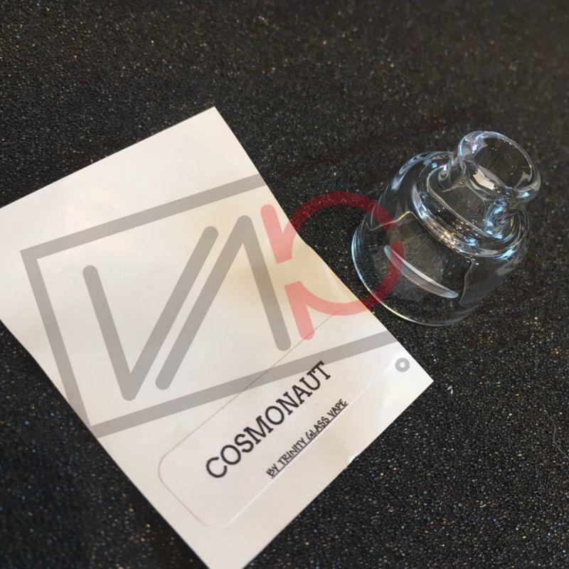 画像1: 《ガラスキャップ》COSMONAUT RDA 24mm Trinity Glass Cap 《District F5VE》 ガラスキャップ クリア カスタム アクセサリー 電子タバコ vape (1)