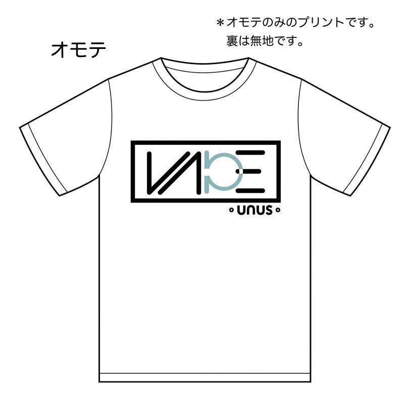 画像1: UNUS 2019 Tシャツ01 オリジナル グッズ  Tシャツ ホワイト ミントグリーン ユニセックス (1)
