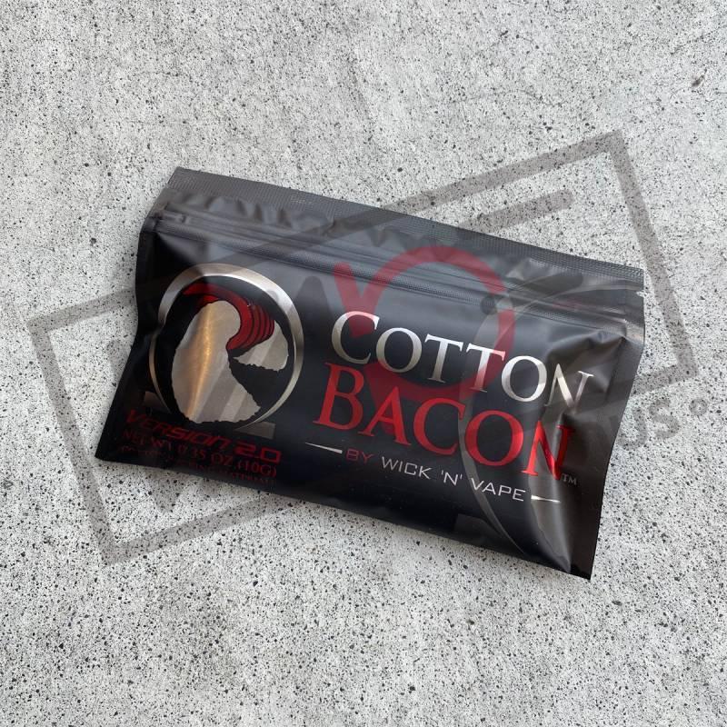 画像1: Cotton Bacon VERSION 2 コットンベーコン 10g (Wick 'n' Vape) 電子タバコ専用 ビルド コットン (1)