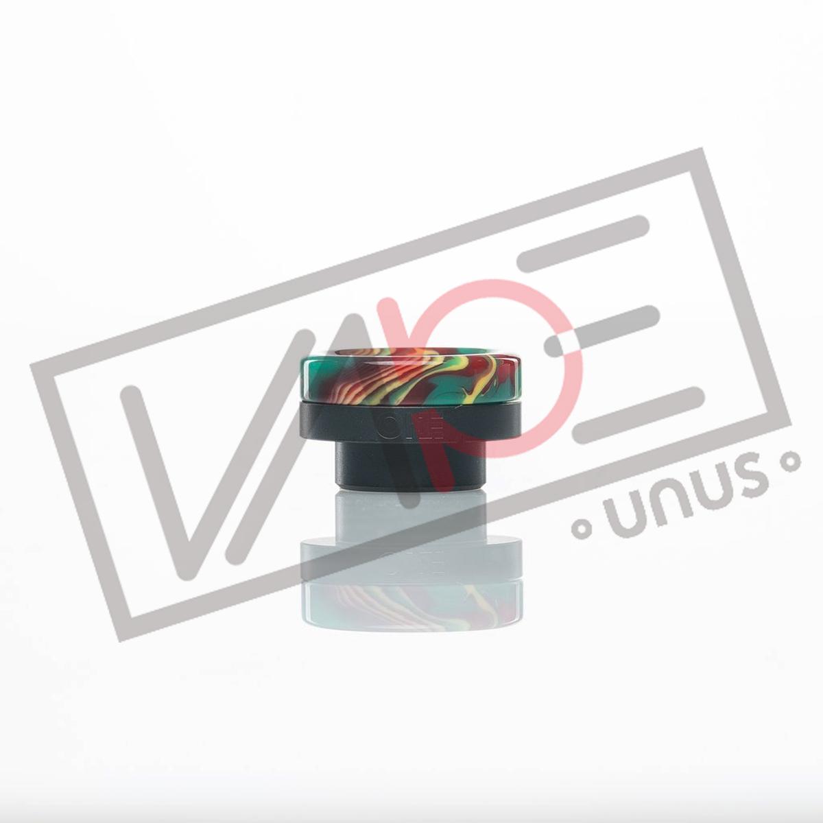画像1: 《ドリップチップ》DISTRICT F5VE - ONE TIP (BLACK BASE) RAINBOW 810 ドリップチップ (1)