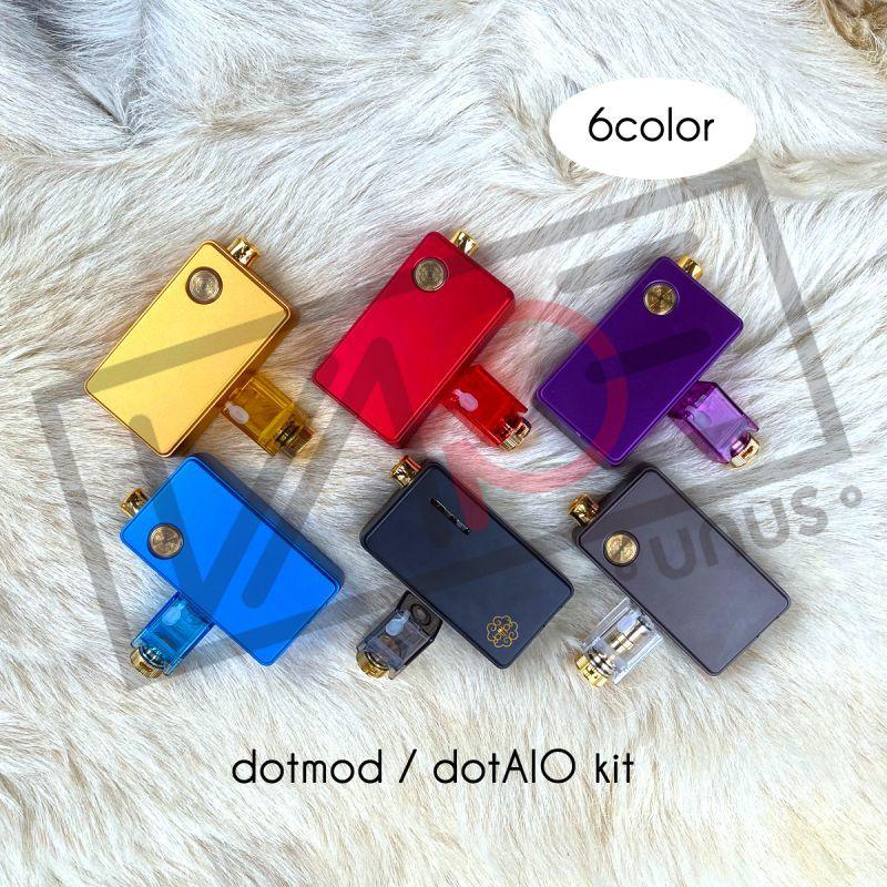 画像1: 《スターター》 dotmod dotAIO KIT / dotmod 交換コイル リビルド可能 初心者 電子たばこ vape (1)