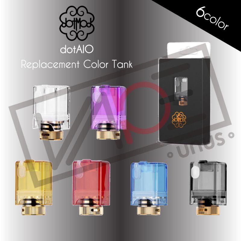 画像1: 《カスタムパーツ》 dotAIO 交換タンク / dotmod 電子たばこ vape (1)