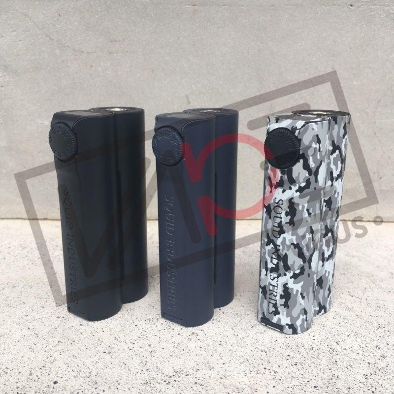 画像1: <テクニカルデュアルMOD>Double Barrel V3 150W Box Mod 《Squid Industries》 MOD デュアルバッテリー 電子たばこ vape (1)