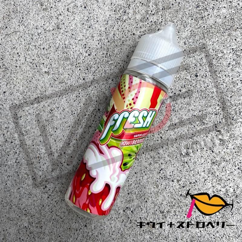 画像1: 《フルーツ系》FRESH JUICE【60ml】キウイ ストロベリー リキッド (1)