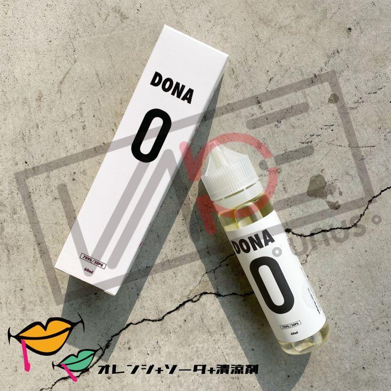 画像1: 《フルーツメンソール系》DONA 0 / BADBOY CLUB【60ml】オレンジ ソーダ 清涼剤 リキッド (1)