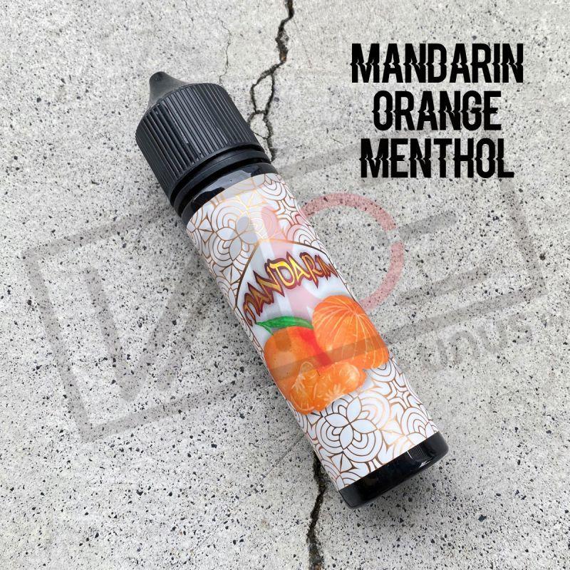 画像1: 《フルーツメンソール系》MANDARIN【60ml】マンダリンオレンジ メンソール スッキリ フルーツ リキッド (1)