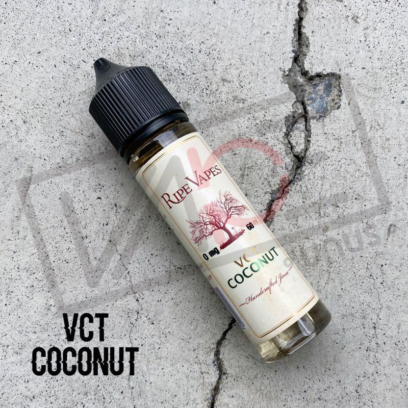画像1: 《タバコ系》 VCT COCONUT / VCT LIMITED SERIES / RIPE VAPES 【60ml】バニラ カスタード タバコ ココナッツ リキッド (1)