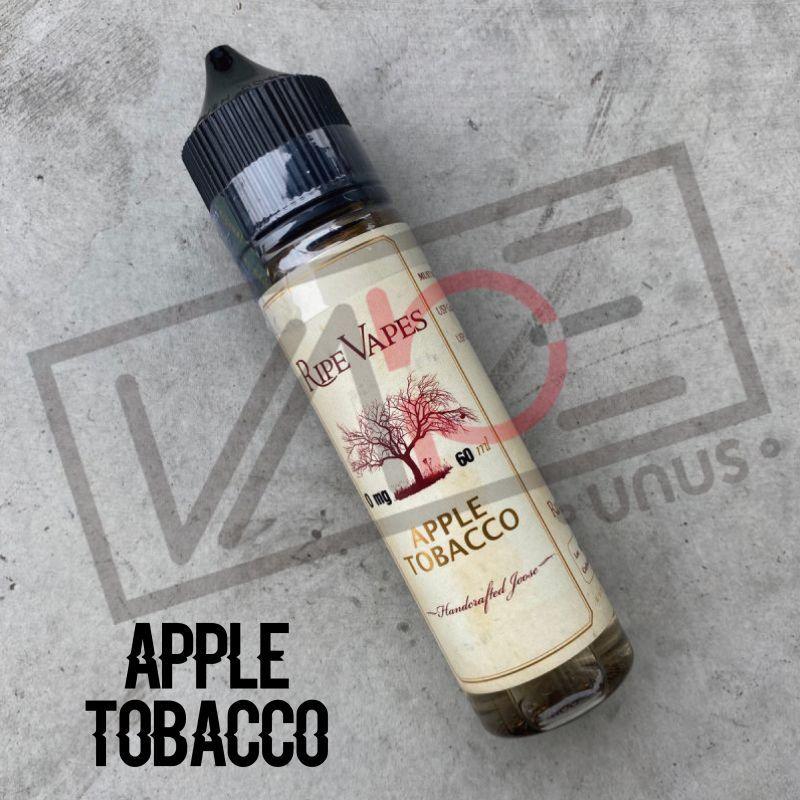 画像1: 《タバコ系》APPLE TOBACCO / RIPE VAPES 【60ml】 アップル タバコ リキッド (1)