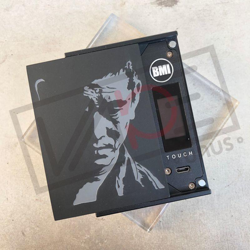 画像1: 《UNUS ORIGINALパネル》 BUKIYOUブラック / BMI MOD専用パネル NEVER DIEシリーズ オリジナル 電子タバコ vape (1)